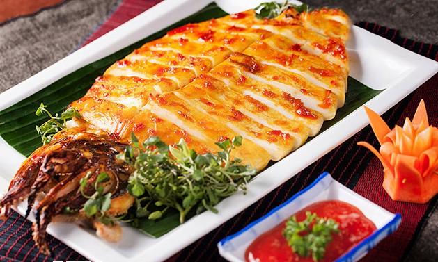 Mực một nắng Bình Thuận