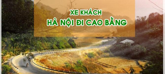 Đón xe khách Hà Nội đi Cao Bằng