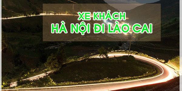 Đón xe khách Hà Nội đi Lào Cai