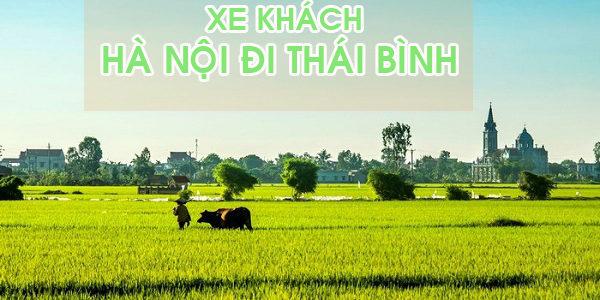 Đón xe khách Hà Nội đi Thái Bình
