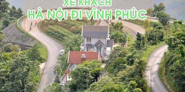 Đón xe khách Hà Nội đi Vĩnh Phúc