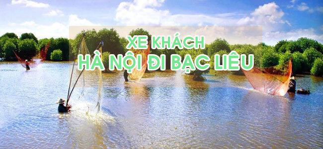 Đón xe khách Hà Nội đi Bạc Liêu