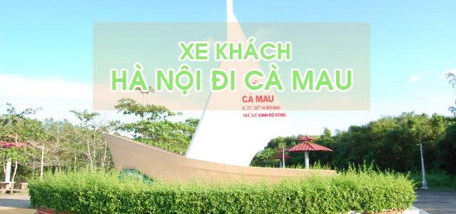 Đón xe khách Hà Nội đi Cà Mau