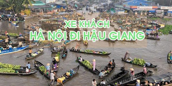 Đón xe khách Hà Nội đi Hậu Giang