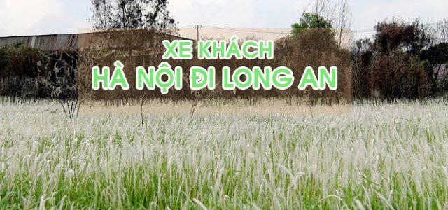 Đón xe khách Hà Nội đi Long An