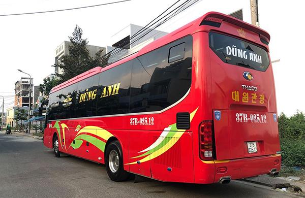 Xe khách Con Cuông Đà Nẵng
